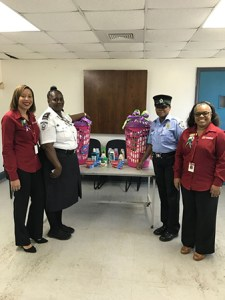 Donation of care packages to the female inmates of the Bordelais Correctional Facility