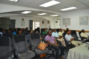 Stakeholders in attendance at Auberge Seraphine