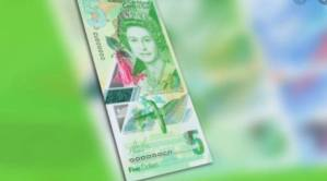 EC$5 Polymer Banknote In Circulation In Saint Vincent & The Grenadines