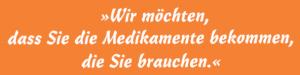 [Medikamentenhilfe] Slogan