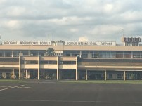 Landed at Douala