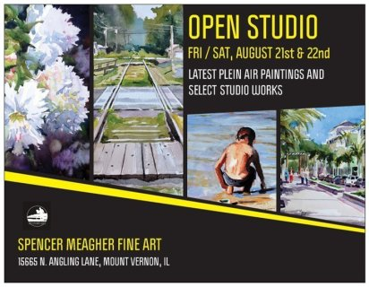Spencer Meagher Open Studio Invite Aug 2015