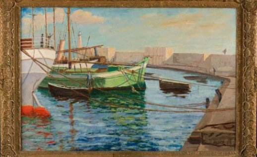 Churchill-painting-boats-at-cannes-642x336