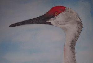 Painting by Kathleen Luepke