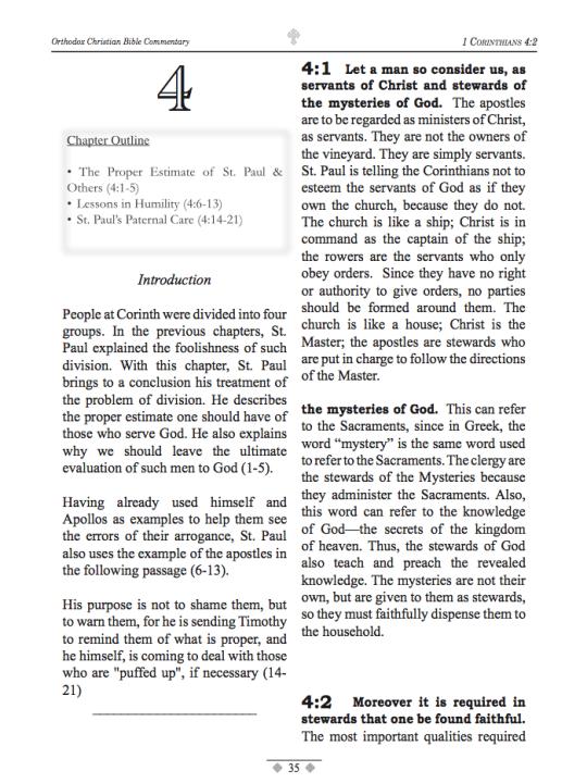 1 Corinthians Sample Page - 3