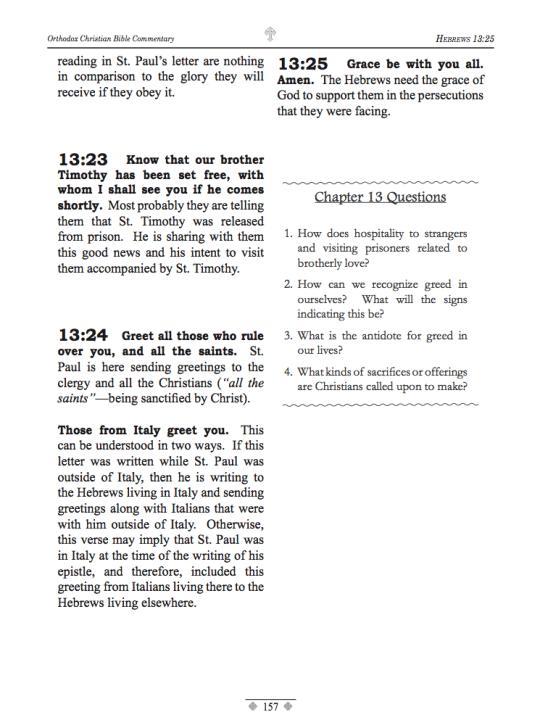 Hebrews - Sample 3