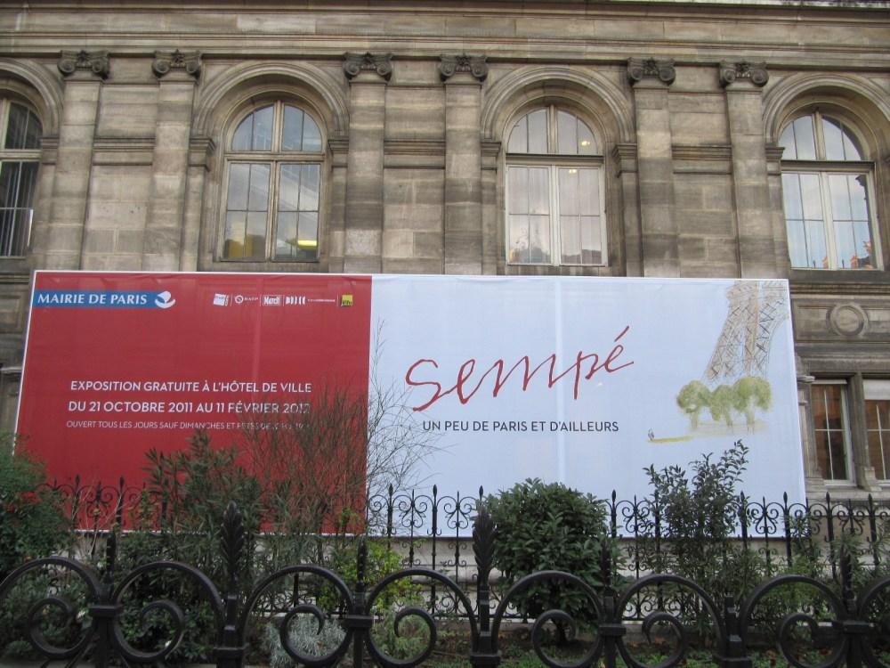 SEMPÉ UN PEU DE PARIS ET D'AILLEURS (5/6)
