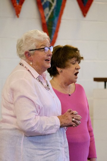 The Combined Choir of Holy Cross Anglican and St Margaret's Uniting Churches performed an afternoon of the choir's favourite songs—old, new, traditional and gospel. The choir previewed songs from their upcoming CD, 'Good Faith', and friends contributed other musical items.