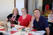 St Margarets Uniting Church and Holy Cross Anglican Church joint Christmas lunch.