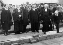 St Margaret's Foundation Stone Ceremony 1952