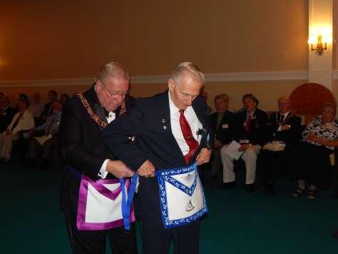 Honorary Past Master Richard Nelson