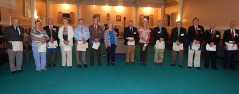 St. Mark's Past Masters and Special Ladies