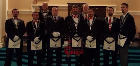 2016 St. Marks Lodge Officers2016 St. Marks Lodge Officers