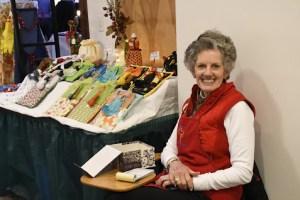 Volunteer at Christmas bazaar