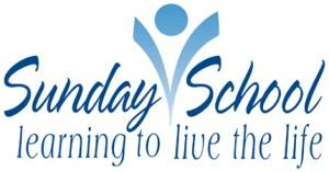 Sunday school bulletin graphic