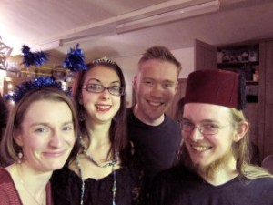 Inspire members dress up for Epiphany