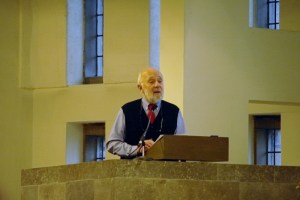 Marcus Borg preaching at St Mark'sRemembrance Sunday Nov 2011