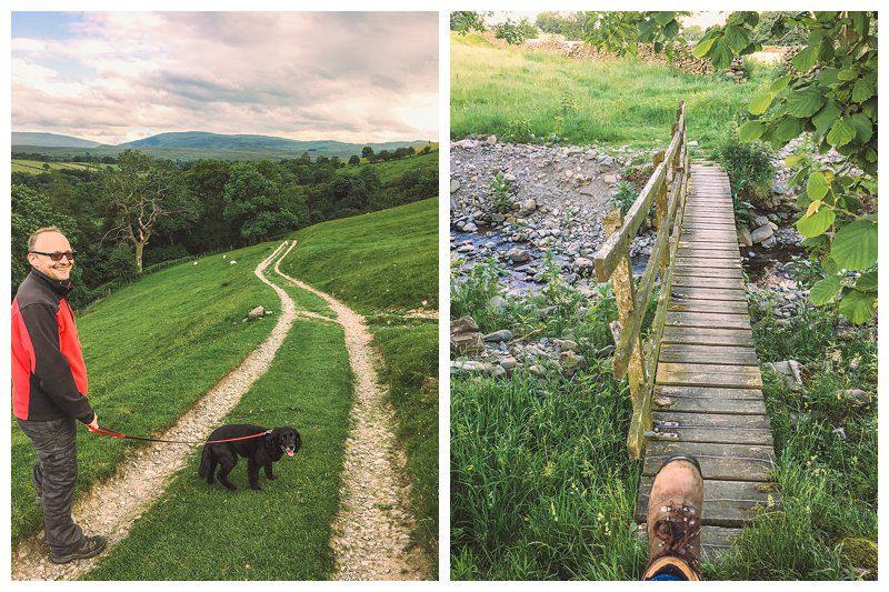 Walking Cautley to Sedbergh