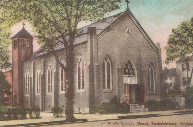 St. Mary Catholic Church, Princess Anne Street