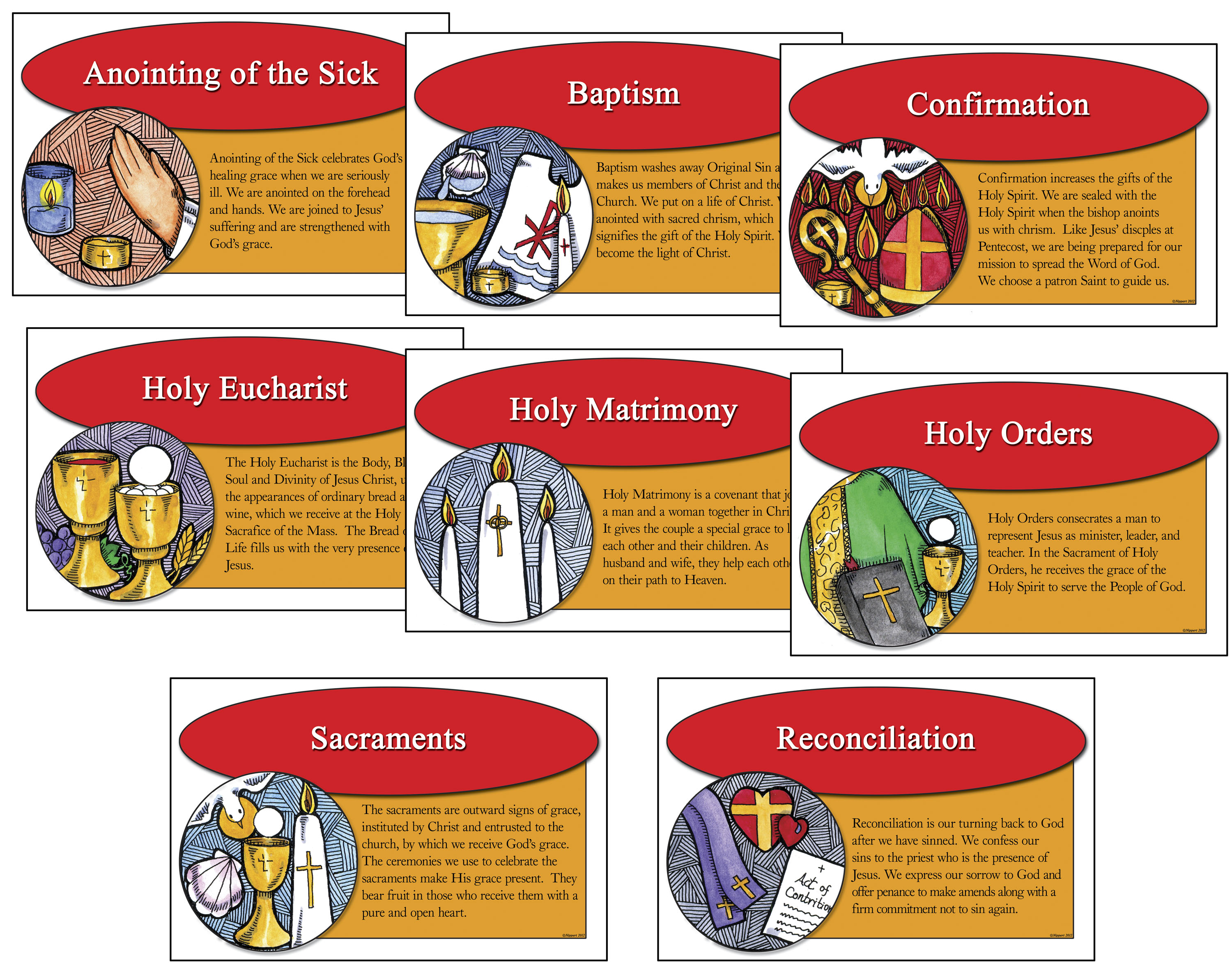 The Seven Sacraments St Mary Of The Seven Dolors
