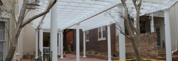 The pergola is finished!