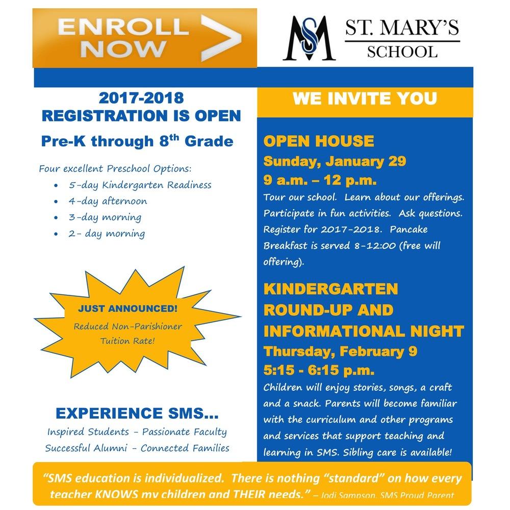hight resolution of Catholic Schools Week Activities! - St. Mary's School - Owatonna