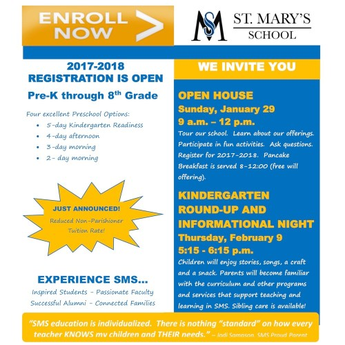 small resolution of Catholic Schools Week Activities! - St. Mary's School - Owatonna
