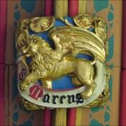 The symbol of St Mark the Evangelist