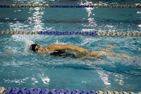 swimming free style