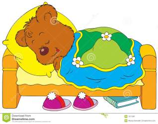 sleeping clipart bear bed cartoon child animated clip children sleepy kid royalty going panda asleep teddy p7 clipartpanda residential clipartmag