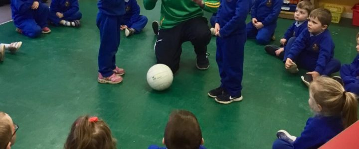 Football training for Under 6