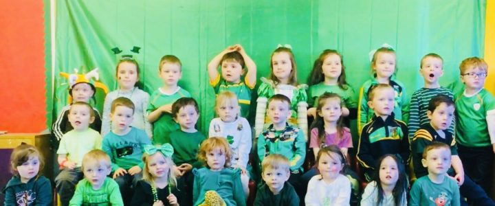 St Patrick's Day Greetings from our Nursery