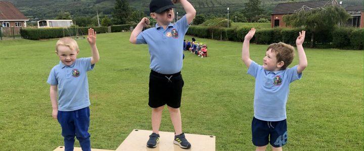 Nursery Sports Day fun '21