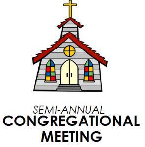 Semi - Annual Congregation Meeting January 26th - Saint Matthew Lutheran  Church