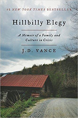 """St. Matt Readers will discuss """"Hillbilly Elegy"""""""