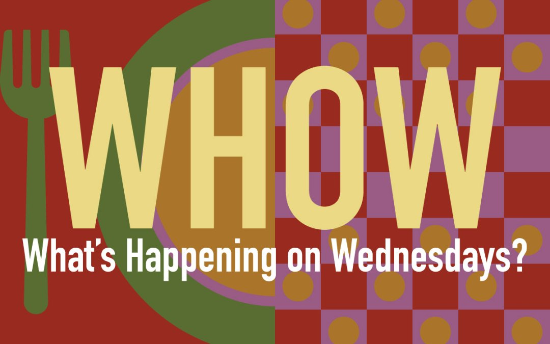 Wednesdays in August 6-8pm Bring Your Own Dinner & Fellowship