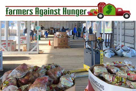 New Jersey Farmers Against Hunger Annual Thanksgiving Packing Event