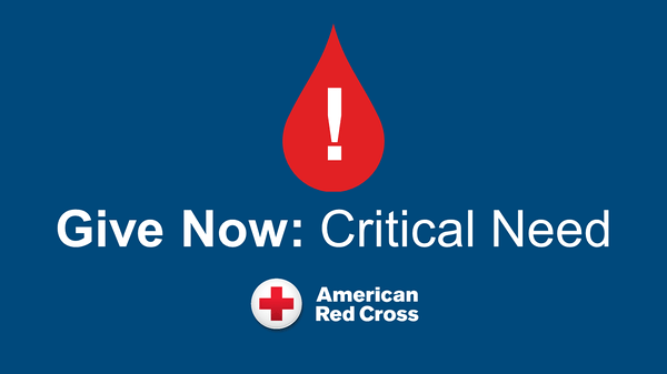 American Red Cross Blood Drive! 9/17 2-7pm
