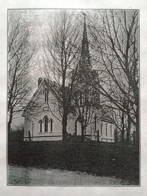 St. Matthew's Lutheran Church - Early 1900's
