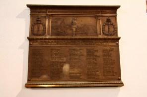 World War I Plaque