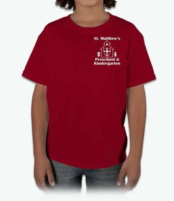 Show Your School Spirit With St. Matt's T-Shirts