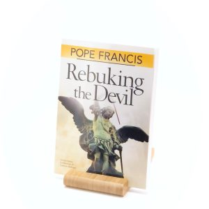Rebuking the Devil by Pope Francis cover
