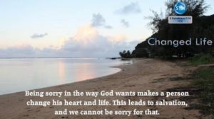 Picture of kauai north shore beach for the changed life bible study 2 Corinthians 7:10