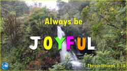 Photo of Hanawi Falls for the joyful Bible study