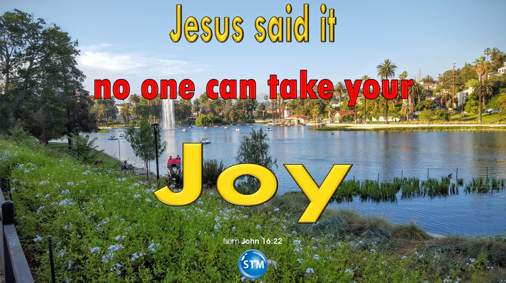 Joy from the Spirit; Now Make Heaven Your Hope