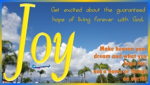 picture of sunny-white clouds day with palm trees for joy - Bible study