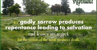 Repentance – Required For Salvation