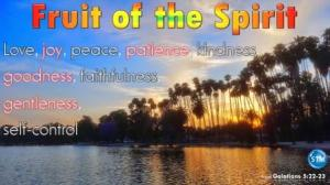 Picture of sunset at lake evans, riverside, ca for the fruit of the spirit bible study