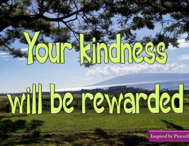 Kindness – Be Kind – Fruit of the Spirit