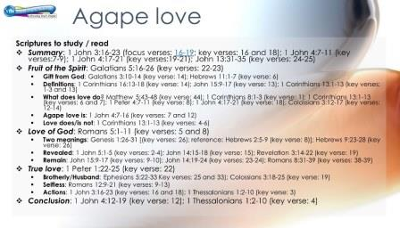 Agape Bible Study Lessons for the Letter to the Hebrews